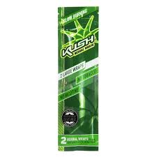 blunt kush herbal wraps original x2 (NO NICOTINA NO TABACO)