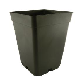 Maceta Negra Cuadrada – 7 Litros