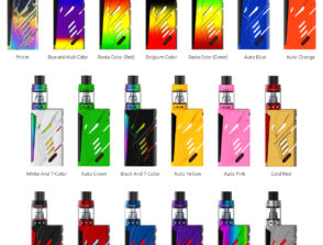 SMOK T PRIV KIT 7 COLOR PROMO BATE LIQUID