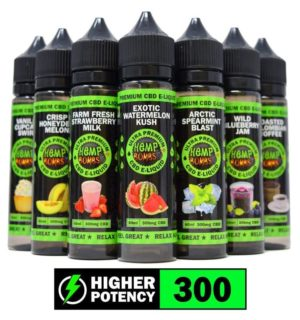 CBD VAPE ARCTIC SPEARMINT BLAST HEMP BOMBS 60ML