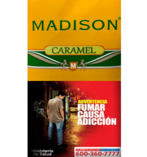 TABACO VIRGINIA MADISON CARAMEL